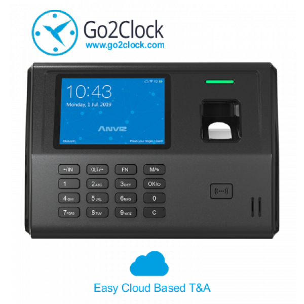 Anviz EP300-Pro-WiFI Series Fingerprint & RFID Card Employee Time Clock