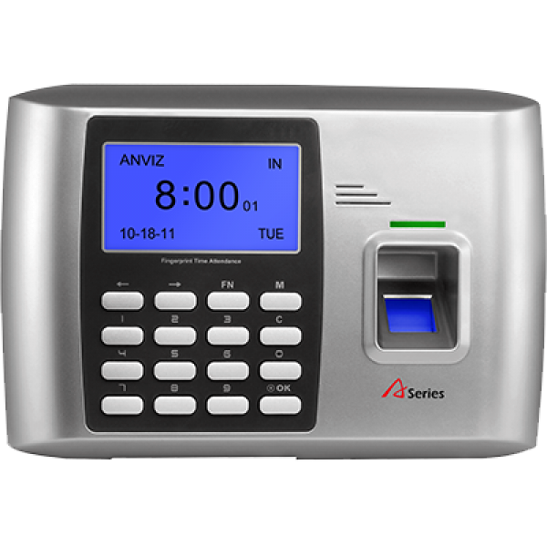 Anviz A300-ID-WiFi Fingerprint & RFID Card Employee Time Clock