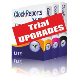 ClockReportsXE Upgrades - 1 Month Subscription Trial