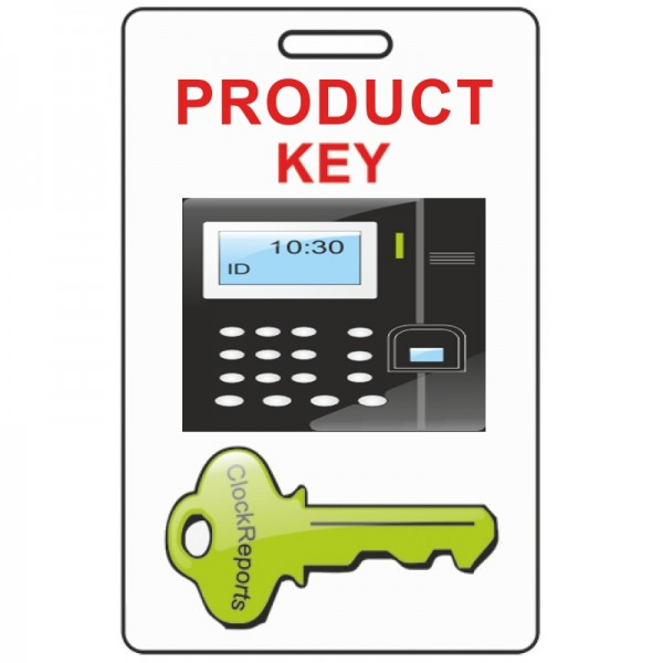 ClockReports Additional Product Device Key for time clocks to work with ClockReports Software